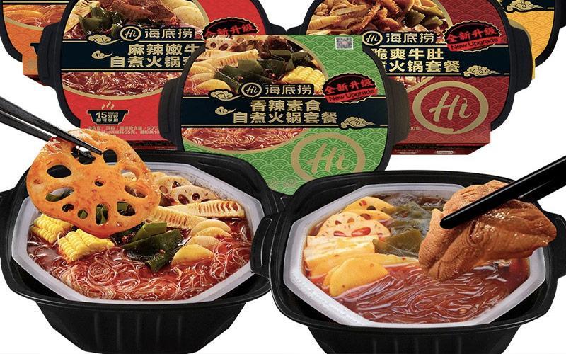Lẩu tự sôi là món ăn vặt Trung Quốc nội địa thích hợp cho ai thích món lẩu nhưng lười làm nhé